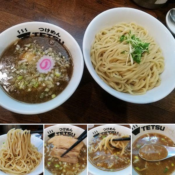 「味玉つけ麺(300g) 910円」@つけめんTETSU 御徒町ラーメン横丁店の写真