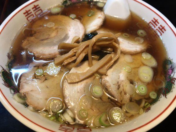 「ちゃしう麺750円」@中華そば 田中屋の写真