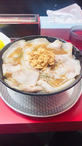「味噌チャーシュー麺」@もっこす 高速長田店の写真