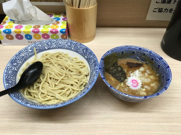 「つけ麺中 あつもり」@狼煙 大宮店の写真