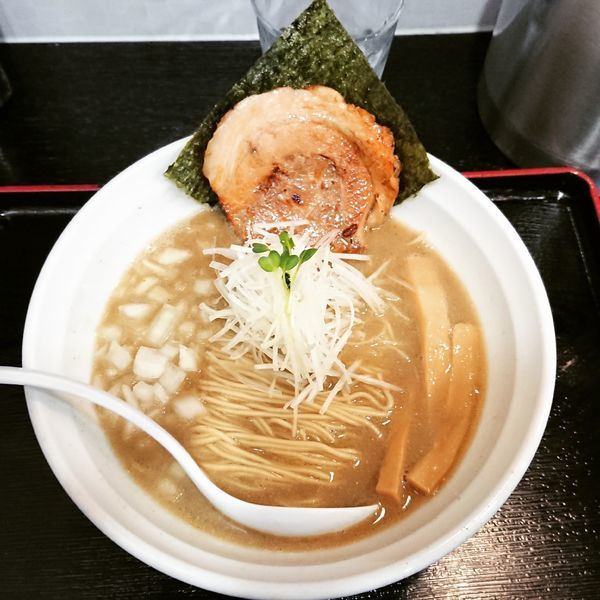 「らーめん 煮干し濃いめ 850円」@煮干しらーめん専門店 麺屋 晴の写真