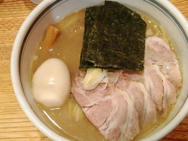 「ちゃーしゅうめん+味付玉子+のり」@こうかいぼうの写真