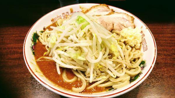 「【限定】みそえびラーメン(大・ヤサイ少なめ・ニンニク)」@麺屋 づかちゃんの写真