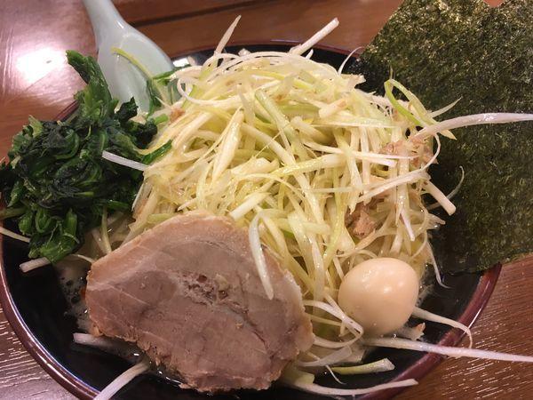 「ネギラーメン」@横浜家系ラーメンとりとんの写真