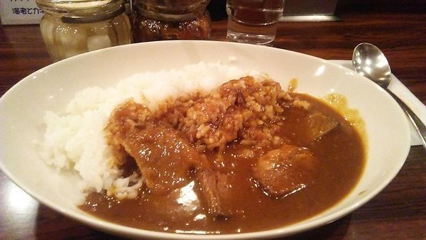 「カレーライス 900円」@キッチン チェックの写真