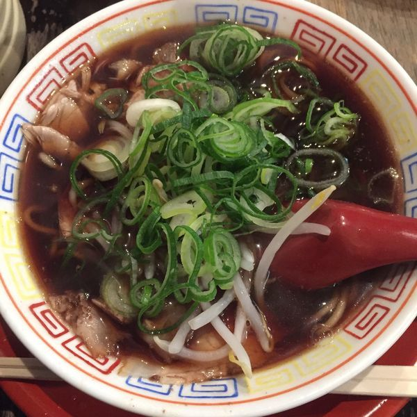 「中華そば 小」@新福菜館 麻布十番店の写真