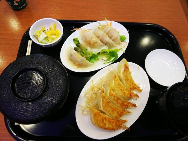 「焼水定食」@石松餃子 新東名店の写真