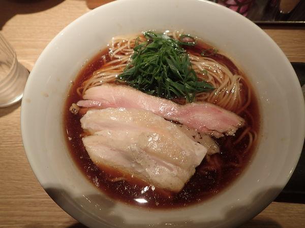 「地鶏そば(阿波尾鶏バージョン)」@麺屋 一燈の写真