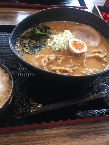 「ごまラーメン? 味噌」@麺屋 稀水 浦和大門店の写真