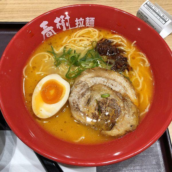 「豚骨海老塩ラーメン」@えび豚骨拉麺 春樹 南砂町スナモ店の写真