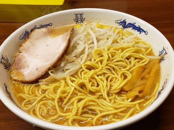 「味噌ラーメン+中盛」@ラーメン一番の写真