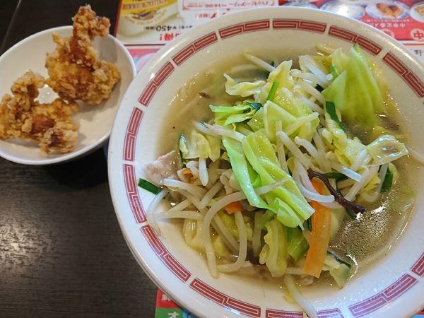 「麺ランチ(野菜たっぷりタンメン)¥850+税」@バーミヤン 若葉店の写真
