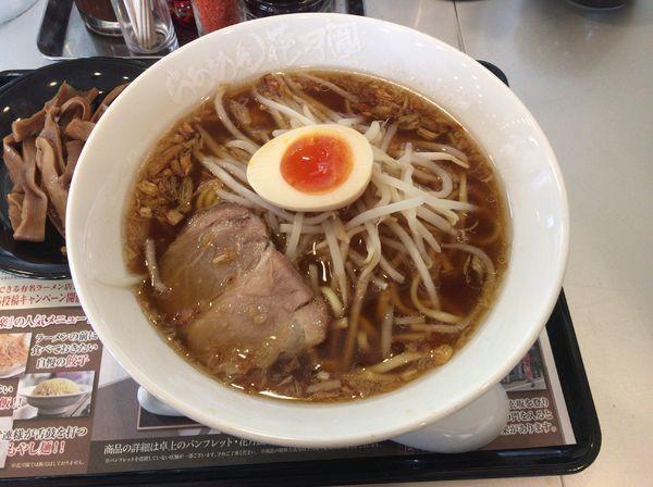 「【限定】中華麺店 喜楽 780円+メンマ(クーポン)」@らあめん花月嵐 西原町店の写真
