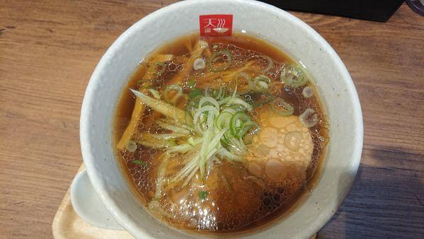「アッサリ醤油ラーメン 770円」@麺処 天川の写真