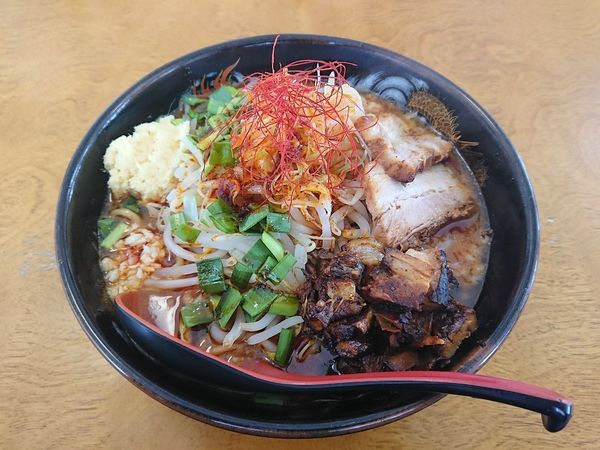 「辛二郎(とろり) 900円」@中華麺酒家 からっ風の写真