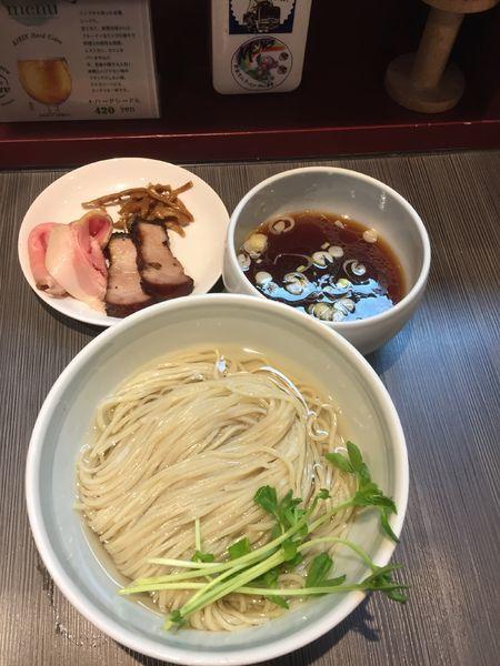 「【気まぐれ限定】豚清湯つけ麺¥900」@柳麺 呉田-goden-の写真