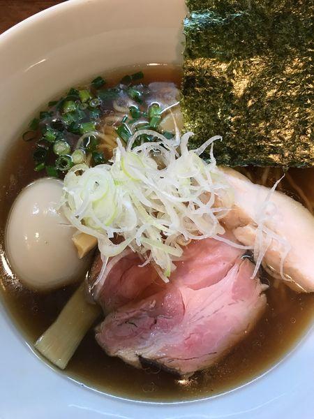 「醤油らーめん+味玉」@Trigo(トリーゴ)の写真