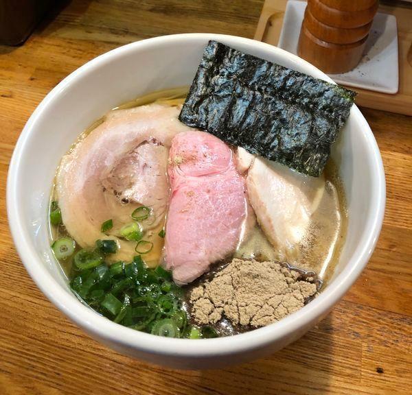 「ネオクラッシックXI(エソの中華そば・塩)¥980」@麺庵 小島流の写真