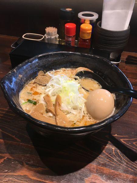 「味噌ラーメン」@麺や 蒼 AOIの写真
