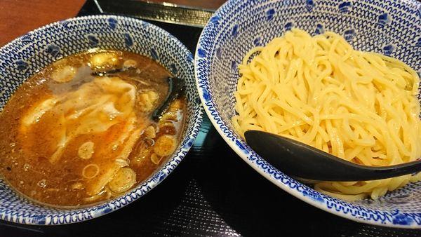 「ワンタンつけ蕎麦(850円)」@中華蕎麦 金魚の写真