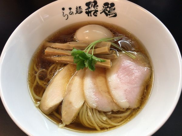 「鶏そば+全部のせ」@らぁ麺 飛鶏の写真