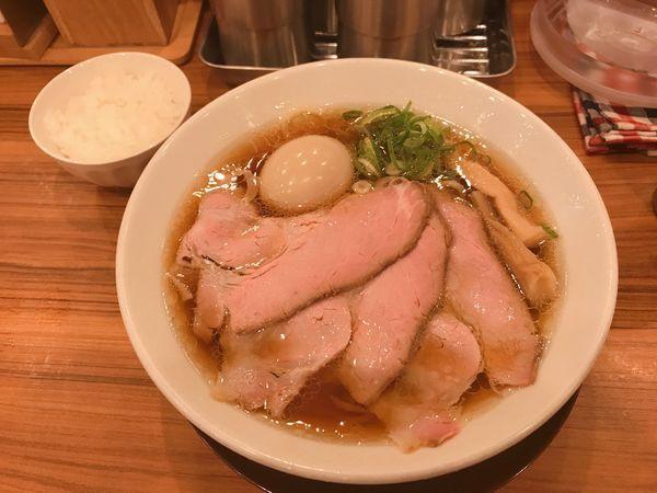 「味玉鶏そば」@中華そば ココカラサキゑの写真