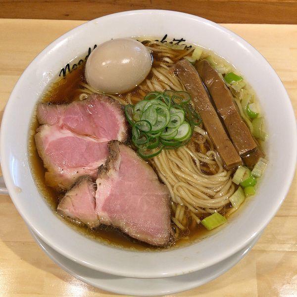 「醤油 煮玉子(中盛)」@麺庵ちとせの写真