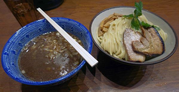 「濃厚つけ麺 大盛」@麺や百日紅の写真