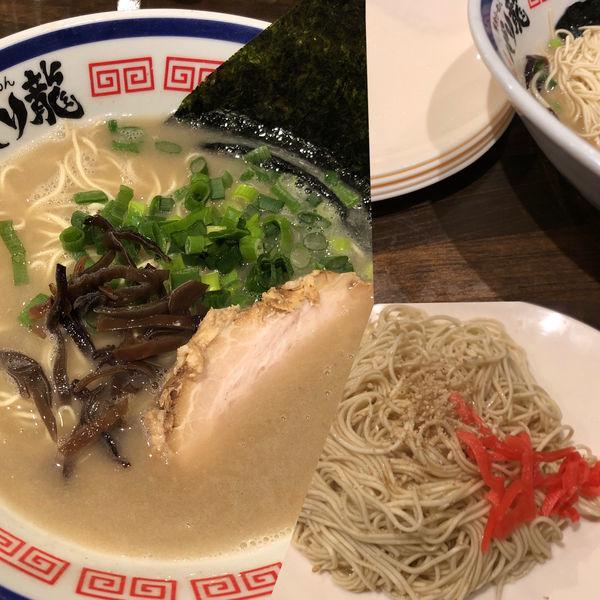 「とんこつらーめん+替え玉×4」@活龍 期間限定麺処 みつきの写真