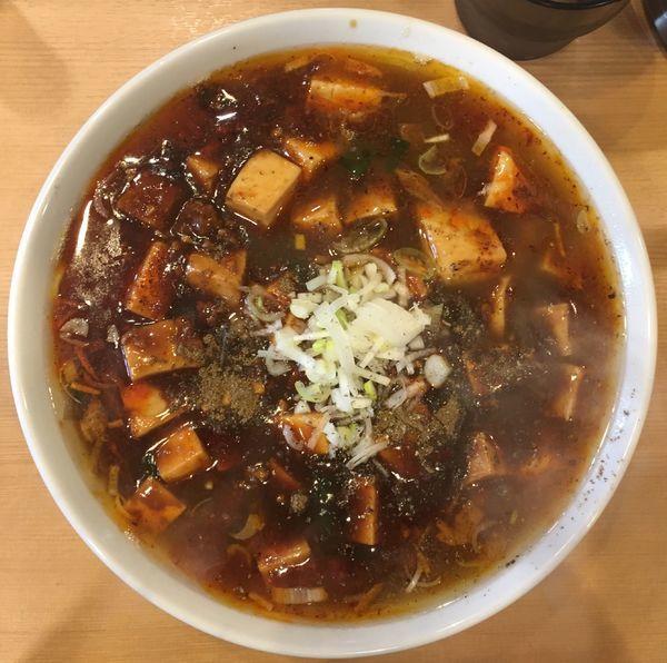 「マーボー麺」@YOKOHAMA中華そば かみ山 の写真