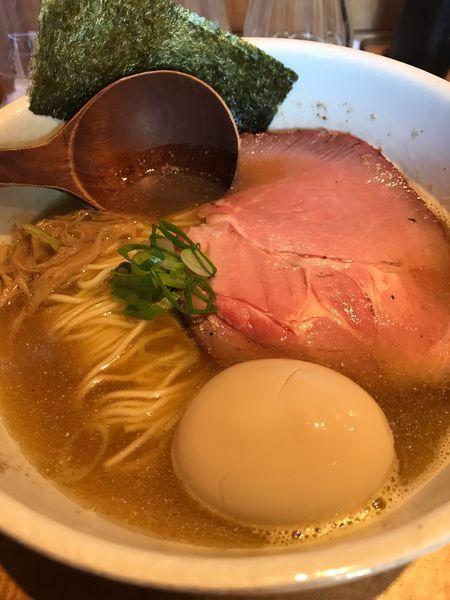 「味玉そば(900円)」@中華蕎麦 蘭鋳の写真