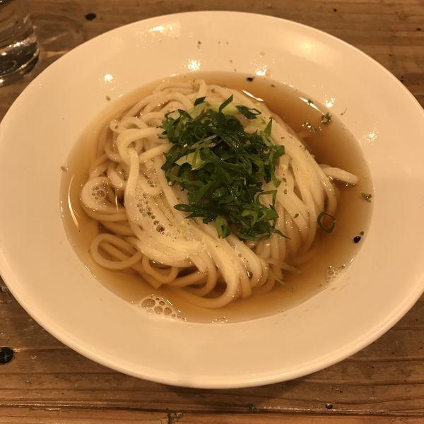 「塩煮干しうどん(¥490)」@麺屋 坂本01の写真