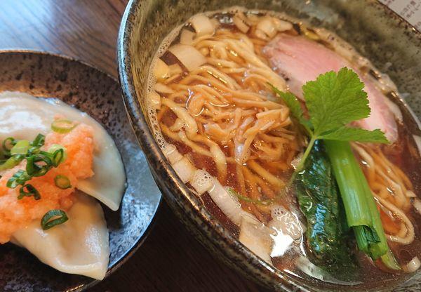 「煮干醤油拉麺」@拉麺 阿吽の写真