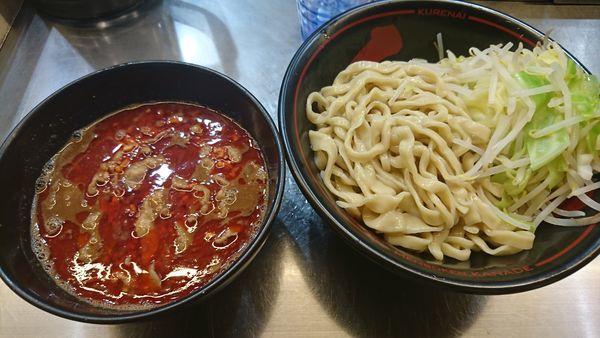 「紅つけ麺(850円)」@麺創研 紅 国分寺の写真