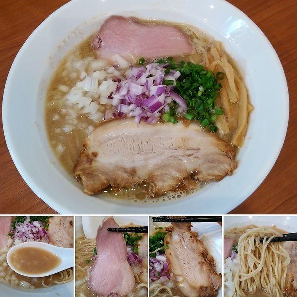 「こく煮節ラーメン(限定)  850円」@中華そば 七麺鳥の写真