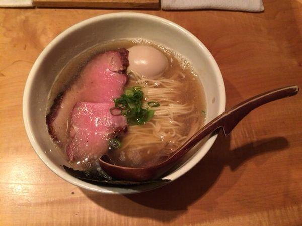 「味玉そば」@中華蕎麦 蘭鋳の写真