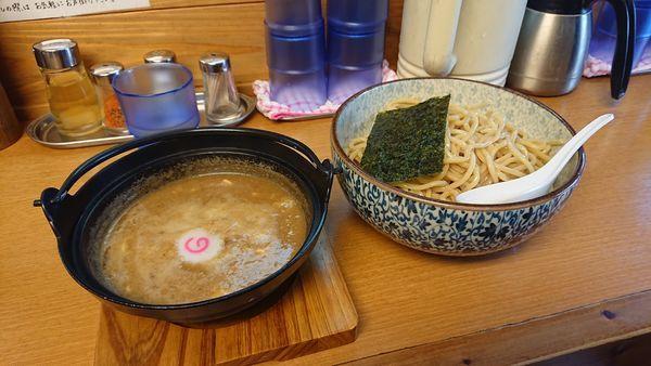 「濃厚つけ麺(大盛り)」@つけめん処 あすなろ食堂の写真