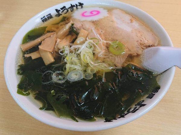 「ワカメラーメン」@麺屋 ようすけの写真