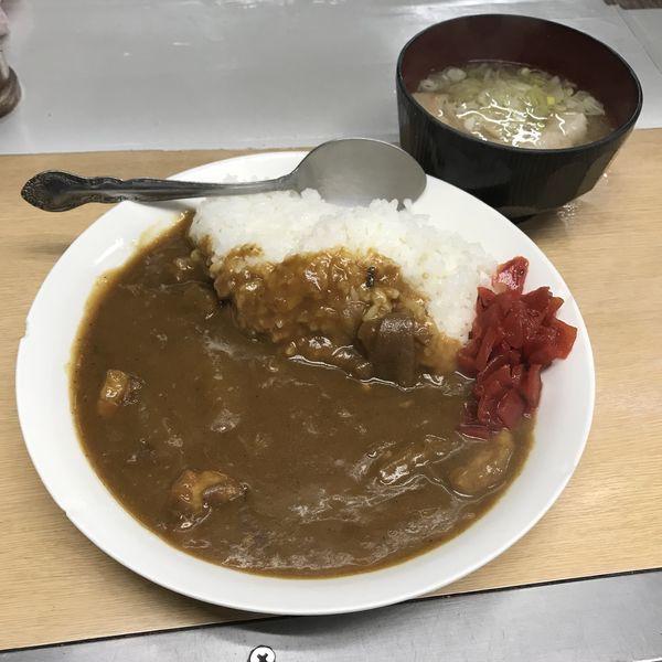 「カレーライス(¥360)」@信濃路 蒲田店の写真