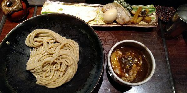 「特製つけ麺」@つけ麺 繁田の写真