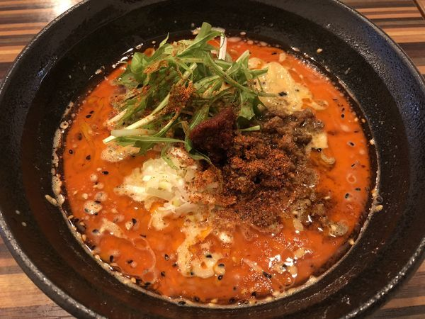 「担々麺 4辛 ¥850」@Chinese Dining 胡食 ~kokuu~の写真