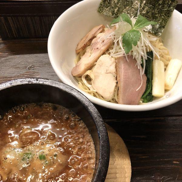 「【数量限定】特製つけ麺(並)」@中華そば こむぎの写真