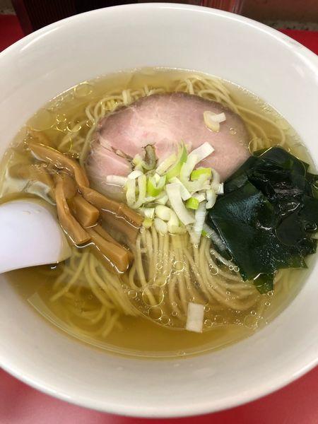 「塩ラーメン 780円」@らーめん えんやの写真