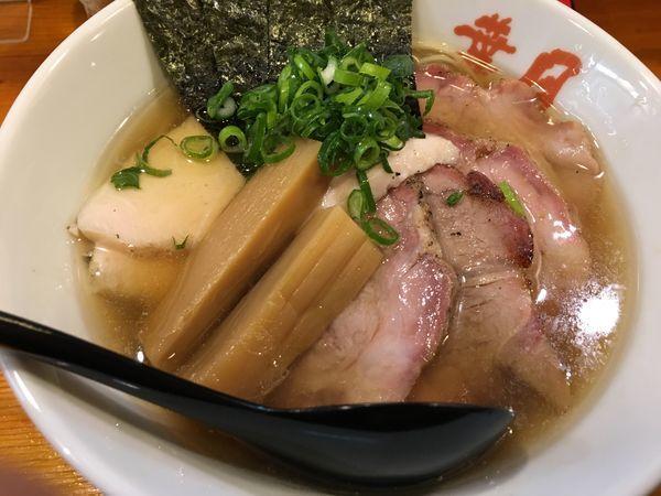 「葉月チャーシュー麺」@らぁめん 葉月の写真