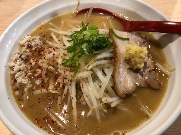 「【限定】鶏白湯焼き味噌ラーメン」@拉麺 大公の写真