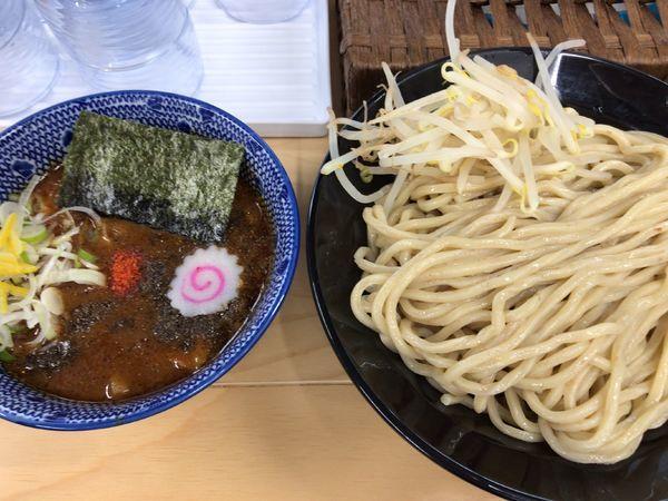 「辛つけ麺 大 辛さ普通」@麺屋サキマサの写真