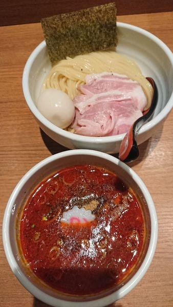 「辛つけ麺」@煮干中華そば 鈴蘭 新宿店の写真