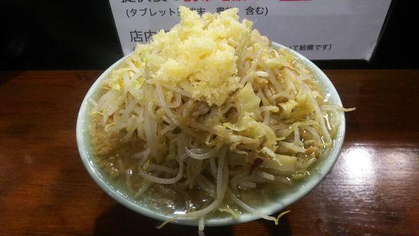 「ポン酢(太麺・ニンニク)」@のスた 凛本店の写真