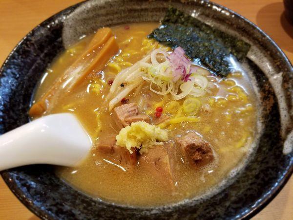 「味噌らぁ麺」@支那蕎麦屋 藤花の写真