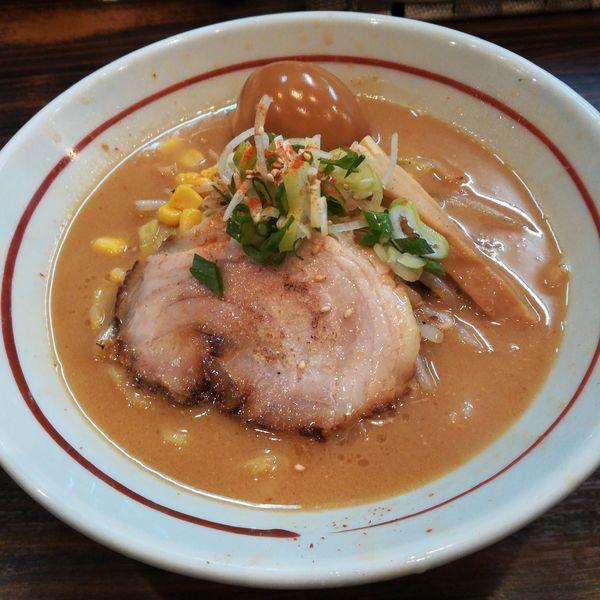 「味噌ら~めん」@らー麺 あけどやの写真